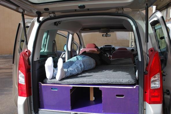 comment amenager berlingo. Black Bedroom Furniture Sets. Home Design Ideas